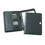 Microfibre Zippered Compendium , Compendiums, Conferences