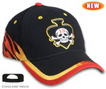 Cyclone Pattern Cap , Race Pattern Caps, Car Promotion Gear