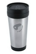 Santorini Travel Mug , Travel Mugs, Car Promotion Gear