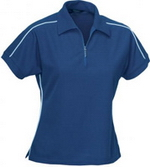 Ladies Sports Piping Polo , Clothing