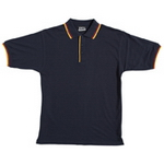 Double Contrast Polo , Mens Polo Shirts, Polo Shirts