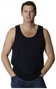 Men's Cotton Zhongyi Singlet, Clothing