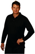 Long Sleeve Zhongyi Polo, Mens Polo Shirts, Polo Shirts