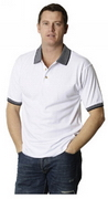 Drop Needle Interlock Polo , Mens Polo Shirts, Polo Shirts