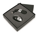 Gift Set with Mouse and Clock , Computer Accessories, Executive and Office Gifts