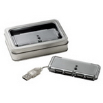 4 Port USB Hub , Executive and Office Gifts