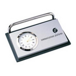 Card Holder with Clock , Desk Gear