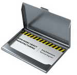 Aluminium Card Holder , Desk Gear