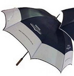 Half Contrast Golf Umbrella , Executive and Office Gifts