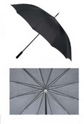 Executive Black Golf Umbrella , Golf Accessories