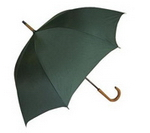 Corporate Hook Handle Rain Umbrella , Golf Accessories