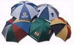 Coloured Golf Umbrellas, Umbrellas