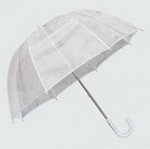 Clear Dome Rain Umbrella , Umbrellas