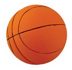 Large Basketball Stress Shape , Executive and Office Gifts