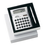 Metal Calculator Gift Set, Stationery