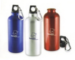 Aluminium Water Bottle, Outdoor Gear