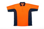 Hi-Vis Short Sleeve Polo, Hi Visibility WorkGear