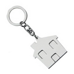 Metal House Keyring, Keyrings