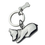 Metal Dog Keyring , Keyrings