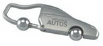 Metal Car Keyring , Keyrings